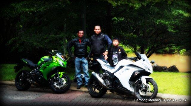 Bianca, Ninjo & para rider nya