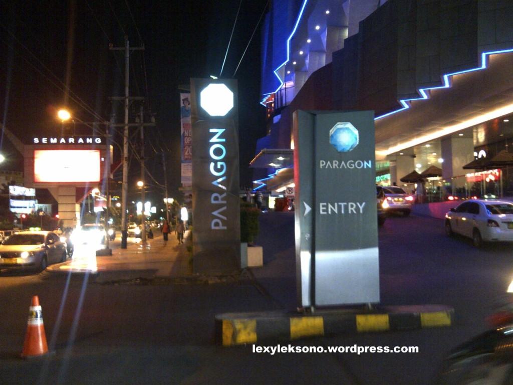 Penampakan Moge Di Lobby Paragon Semarang Lexyleksono