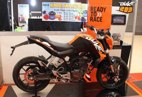 KTM Duke 200cc