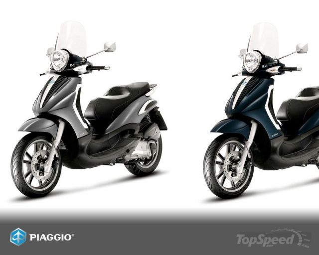Ini Piaggio BV Tourer 500, mirip si Bety kan...