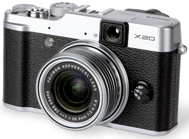 Fujifilm X20 silver-black
