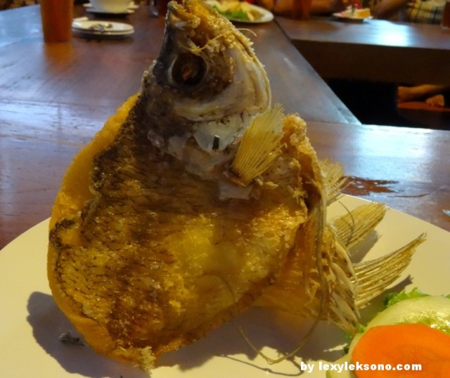Fried Gurame, yummy..!