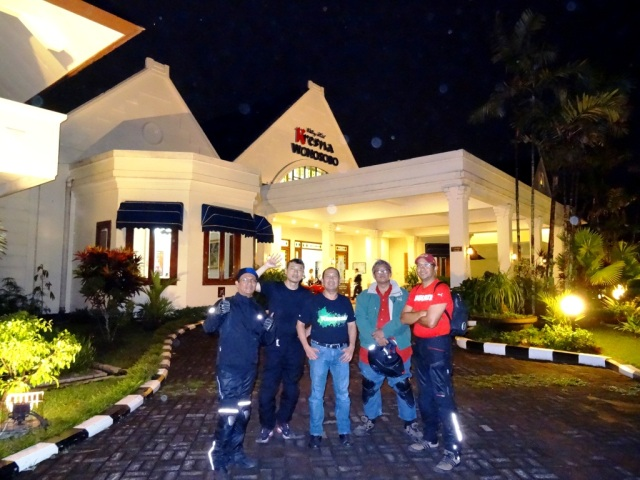 Arrived at Hotel Kresna Wonosobo