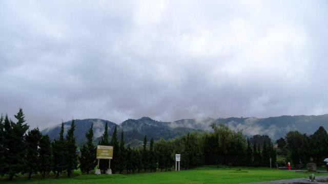 beautiful scenery of Dieng