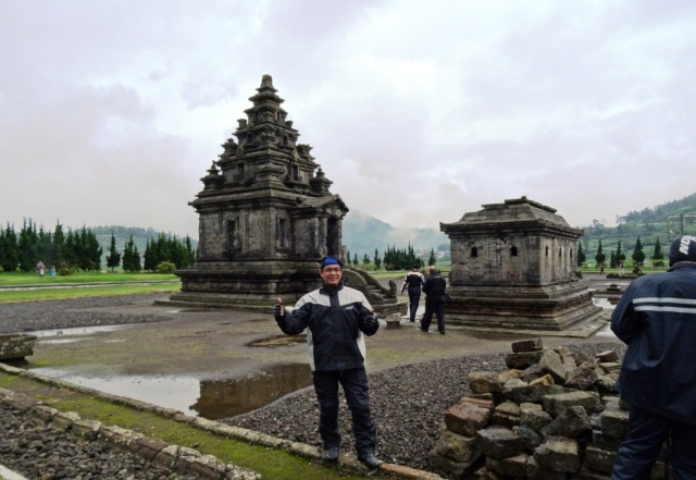 Me at the Arjuna temple