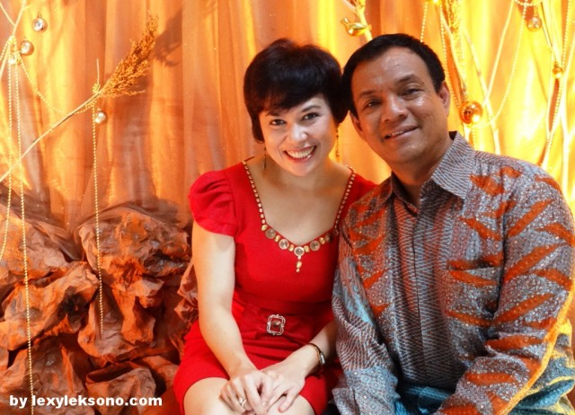 me and my beloved wife Tina, the photo was taken at GMII Logos photo booth
