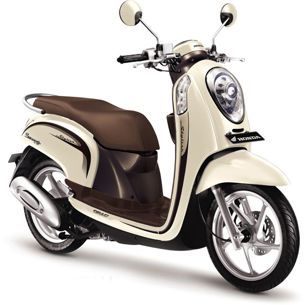 Honda-Scoopy-FI-Chic-Cream