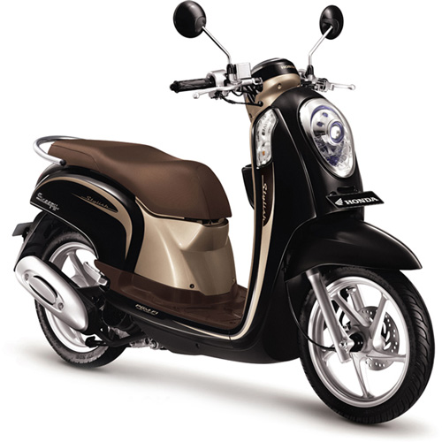 Honda-Scoopy-FI-Fancy-Black