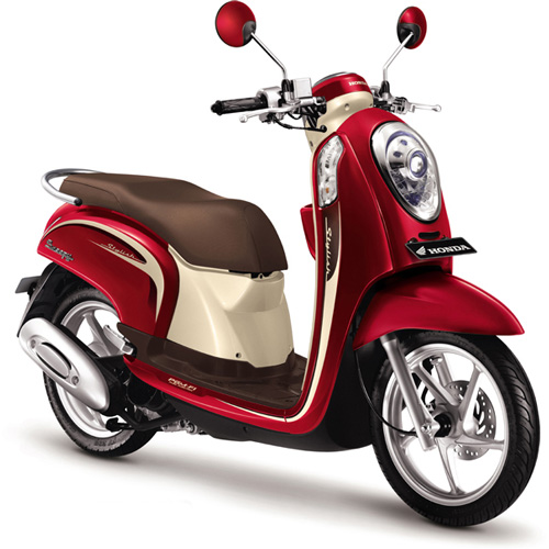 Honda-Scoopy-FI-Vogue-Red