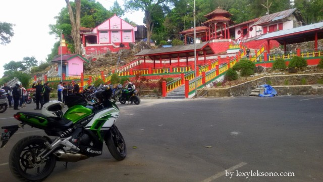 """at """"Dewi Kwan In"""" temple."""