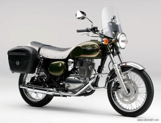 Kawasaki Estrella 250 2014 Hijau