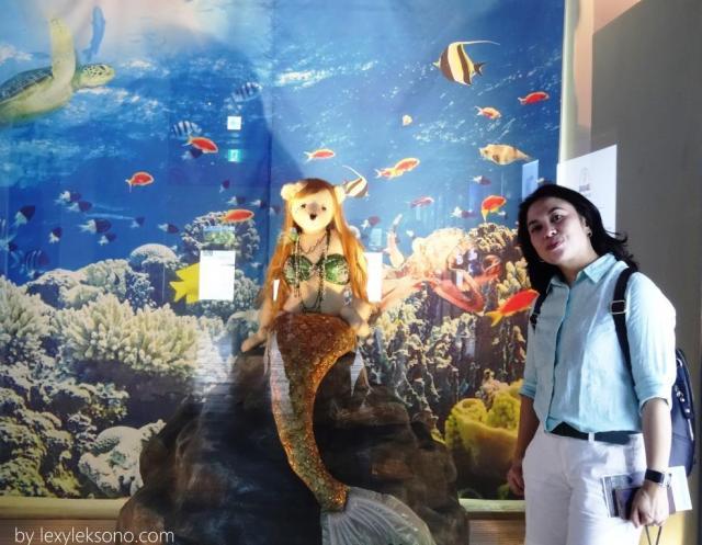 Teddy bear mermaid lucu juga..