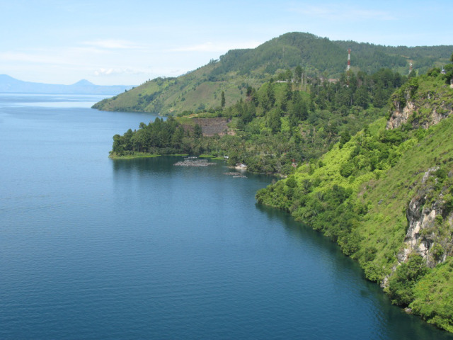 Toba lake, North Sumatera