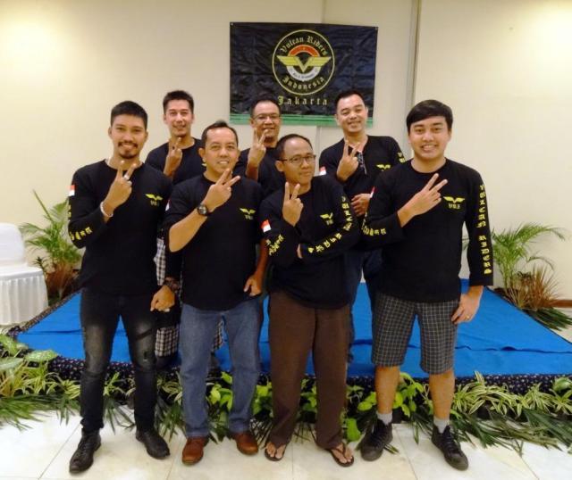 Para pengurus VRI untuk periode 23 Juli 2016 - 23 Juli 2017.