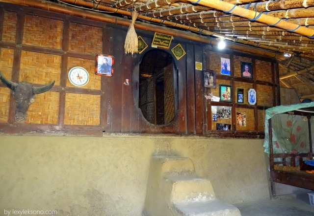 Inside the house first room