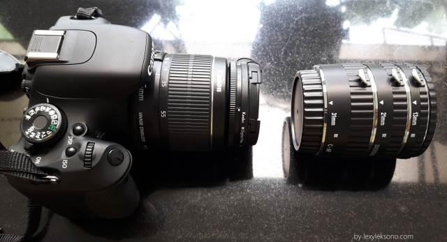 Depan, Extension tube