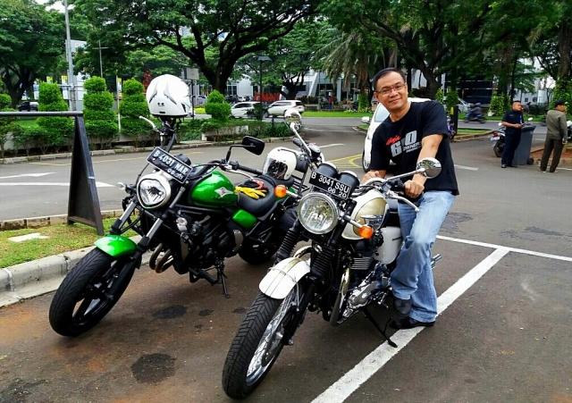Me and Triumph Bonneville T100