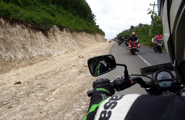 On the way back from Krakal beach Gunung Kidul