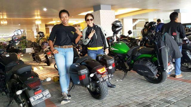 Lady bikers Vulcan Riders Indonesia (VRI)