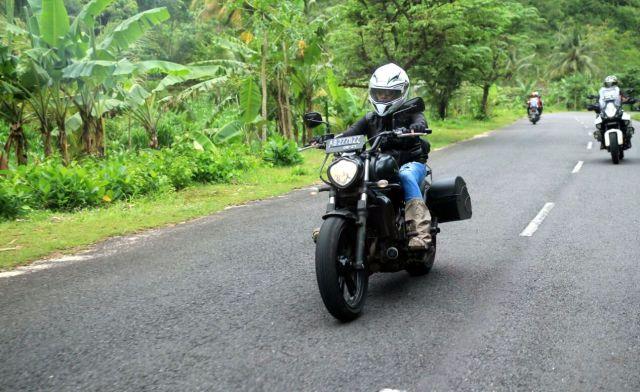 Sis Farida lady VRI rider dari Bali