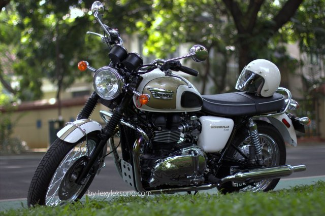 Triumph Bonneville T100, the beautiful & powerful classic bike