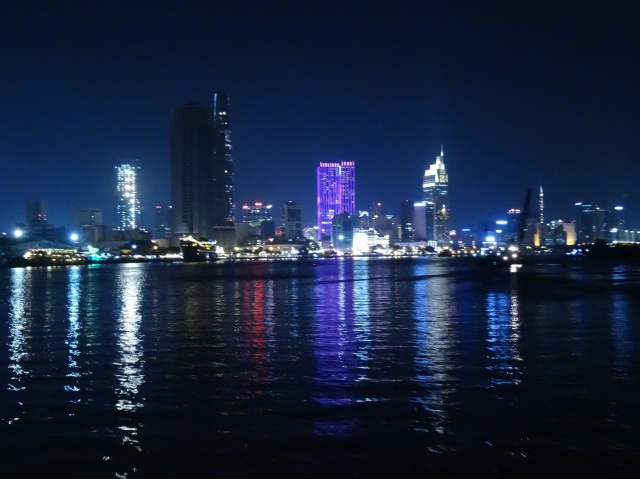Beautiful scene of Saigon, take using Sony HX50V pocket camera