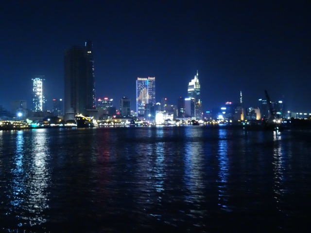 Great view of Ho Chi Minh city or Saigon.